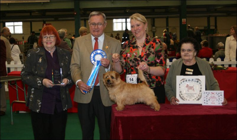 National Dog Show Results